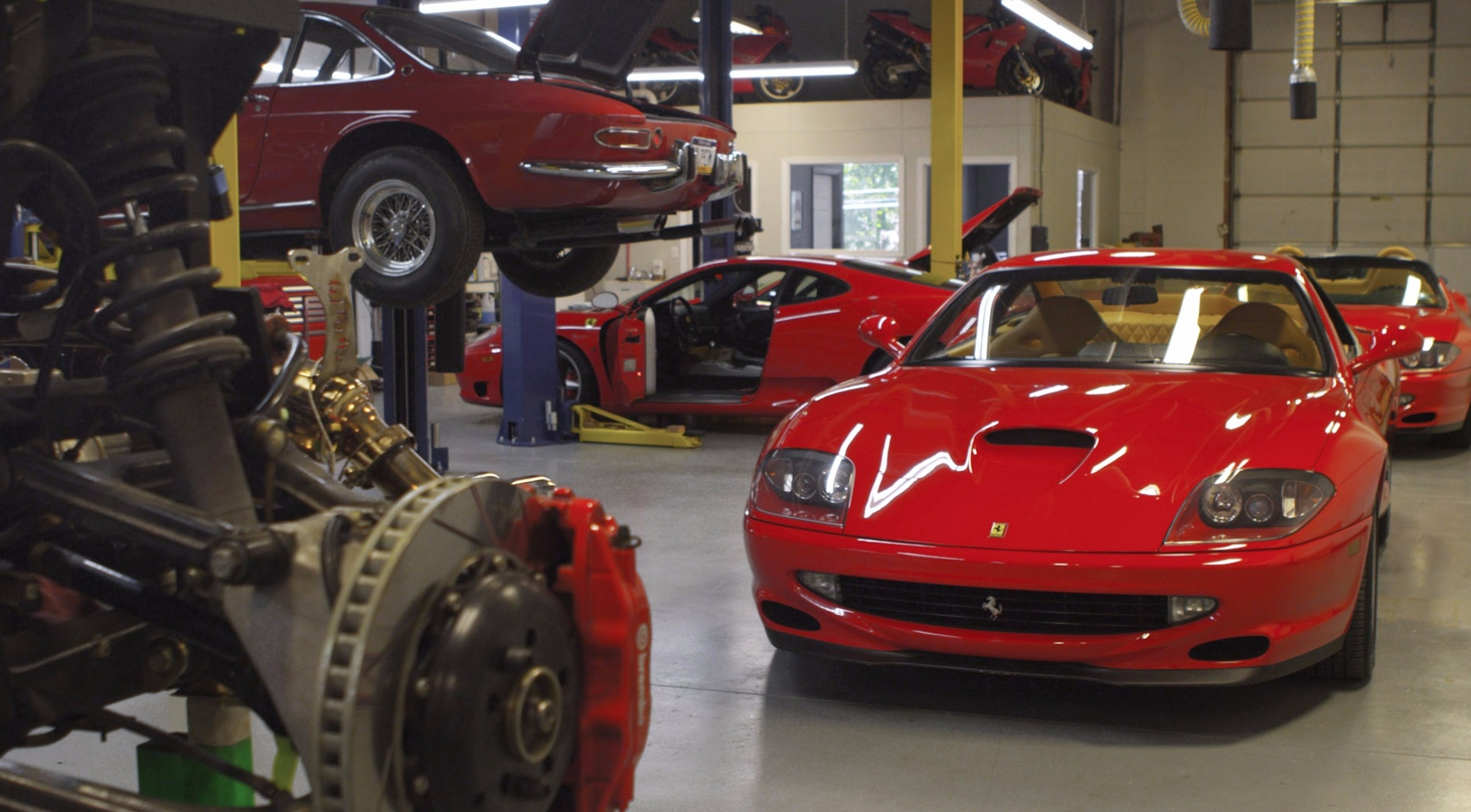Scuderia Performante Independent Ferrari Service Shop