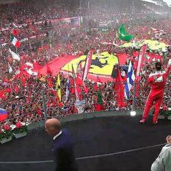 Ferrari on the Podium 2016