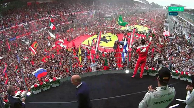 Ferrari on the Podium 2016